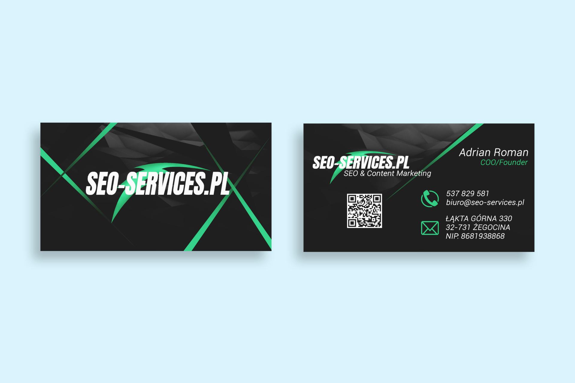 Wizytówka Seo-Services