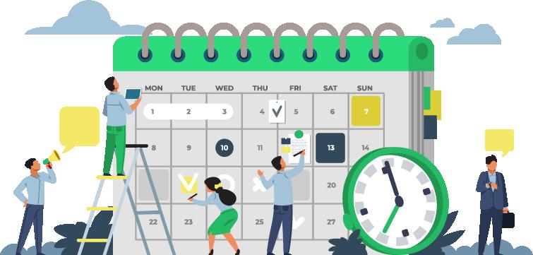 Kalendarz publikacji